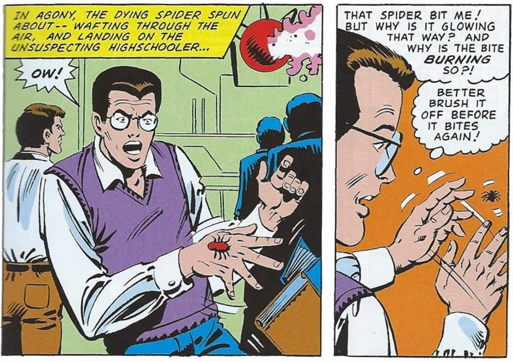 asal mula Spider-Man