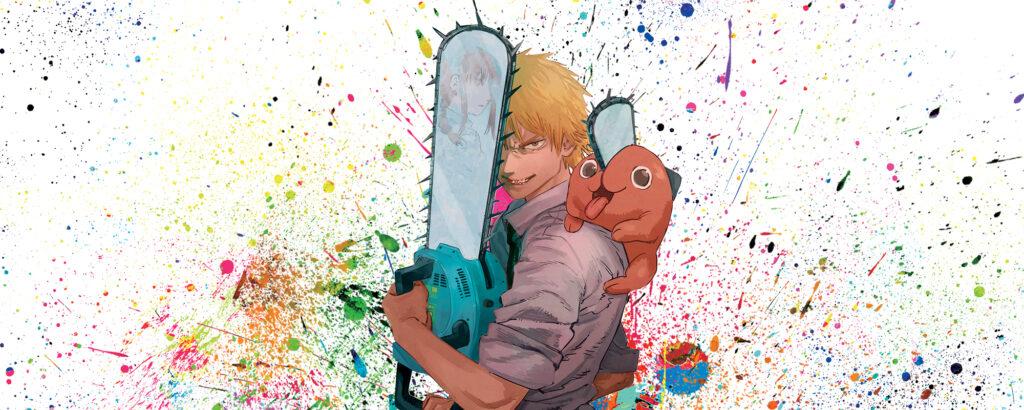 Denji dan Pochita dari Chainsaw Man