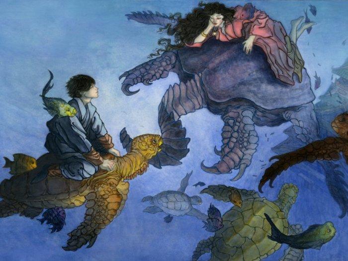 kisah urashima taro inspirasi arc wano di one piece