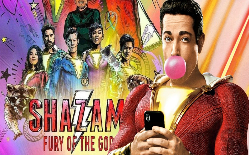 Shazam! Fury of the Gods DC Universe 2023