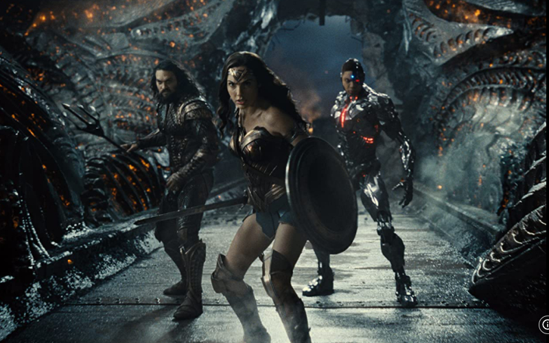 Wonder Woman, Aquaman, dan Cyborg