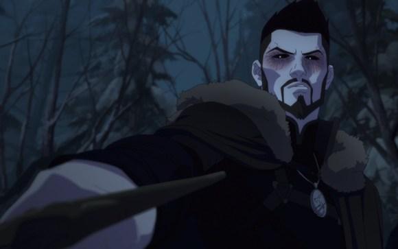 Vesemir dalam Nightmare of the Wolf