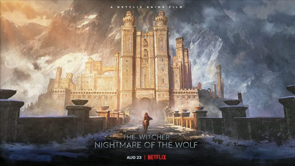 poster The Witcher Nightmare of the Wolf