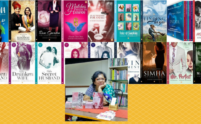 An author Interview of Sundari Venkatraman