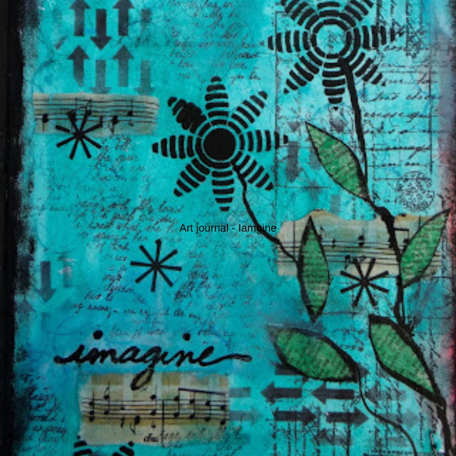 Art journal - Imagine