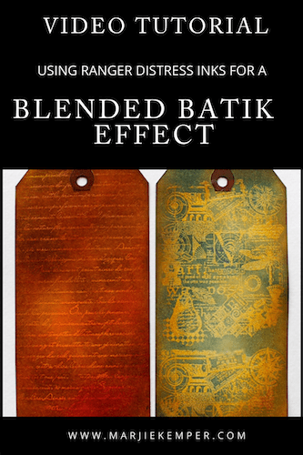 blended batik effect video tutorial
