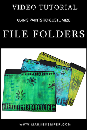 custom file folders video tutorial