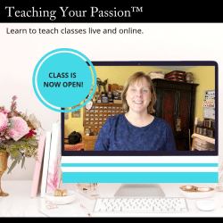 Teaching Your Passion online course
