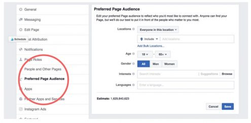 Behind-the-Scenes Business Tips for Artists, Entrepreneurs, and Small Business Owners (Marjie Kemper) Today's tip is how to create a Targeted Audience on your Facebook Business Page (Marjie Kemper)