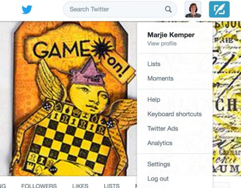 How to Create Lists on Twitter - Behind-the-Scenes Business Tip - Marjie Kemper