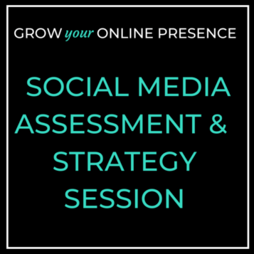 Click for the Social Media Assessment and strategy session page