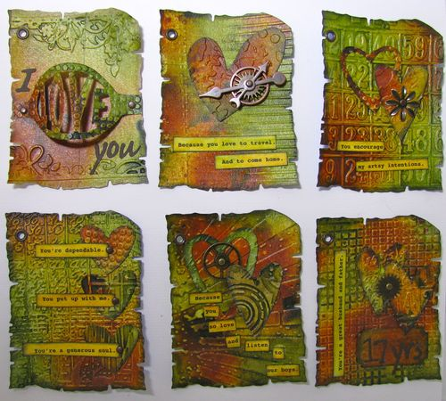 Mini Album with ATC sized pages - Marjie Kemper