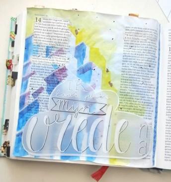 biblejournaling marjoleins creations woningen vrede