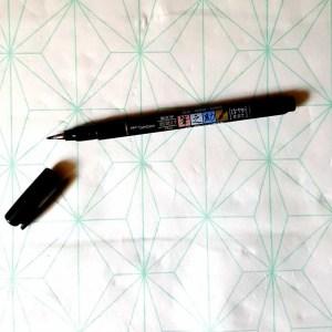 Tombow Fudenosuke brush soft
