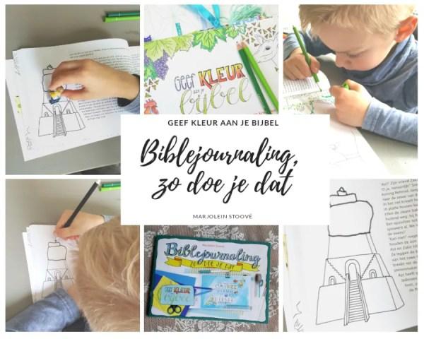 Workshop biblejournaling kinderen