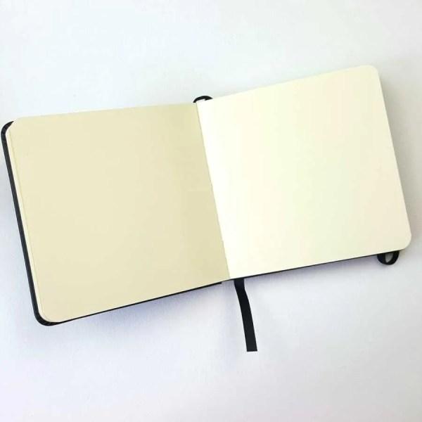 sketch book talens binnenkant mixed media
