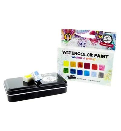 watercolor whimsy en bright art by marlene