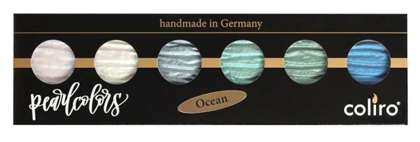 Coliro Pearl Color set 6 colors ocean verpakking