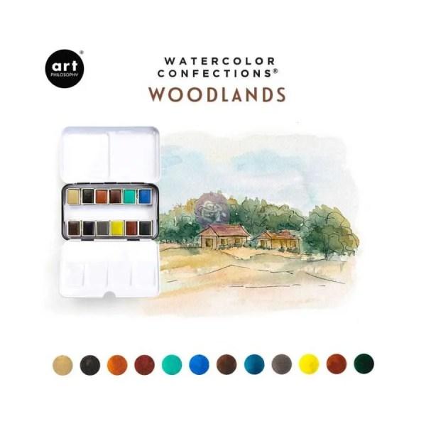 prima marketing watercolor woodlands