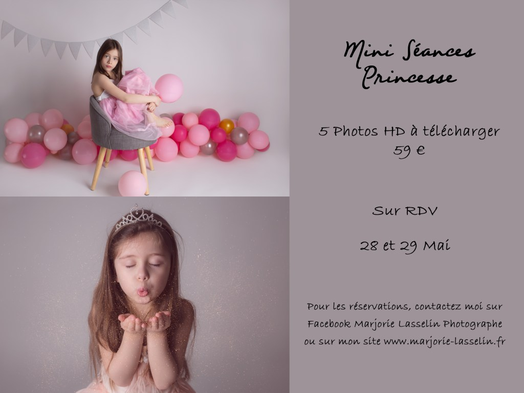mini seance princesse