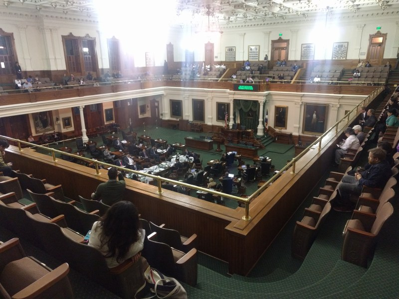 "Texas Senate considers Senate Bill 4, so-called ""anti-sanctuary cities"" bill."