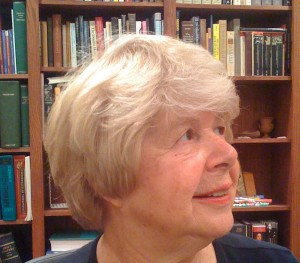 Marjorie Perloff in her study, May 2009