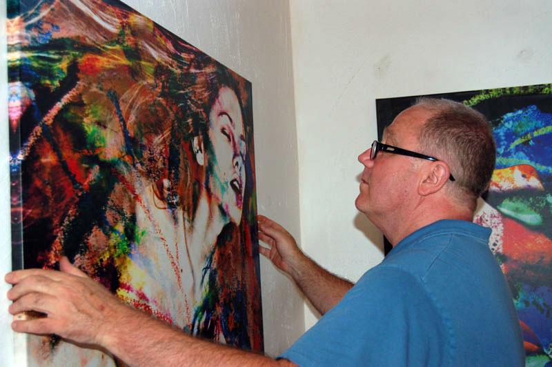 Rich Ray hanging art