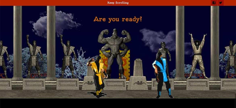 Arcade Mortal Kombat – Patricio Salazar