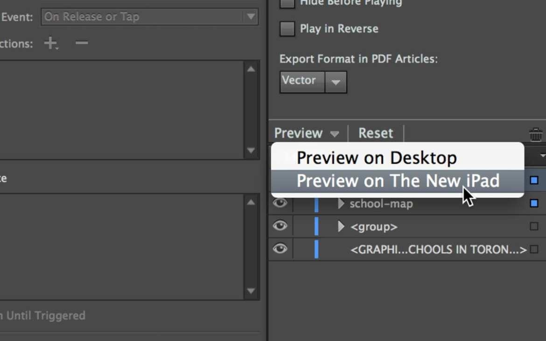 digital publishing suite content viewer preview