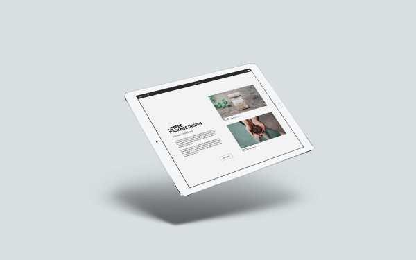 PDF Portfolio Template Mockup