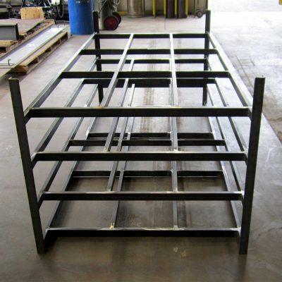 Mark Metals Sheet Metal Rack - Custom Metal Fabrication