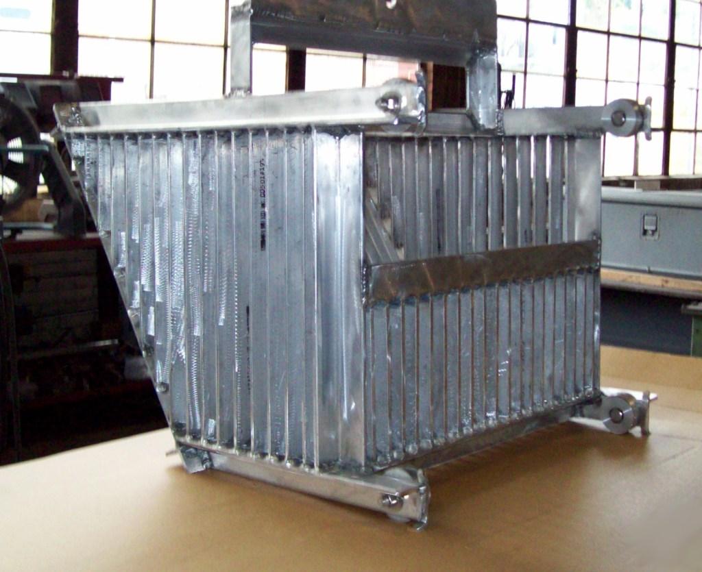 Mark Metals Custom Aluminum Strainer Basket