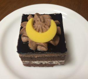 チョコ&クッキークリームケーキ
