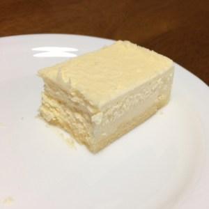 チーズケーキ半分