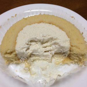 プレミアム和栗のロールケーキ断面