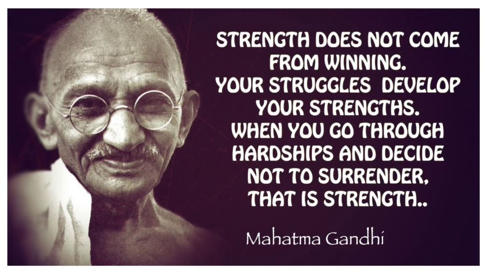 INSTA Ghandi quote