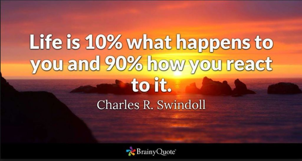 INSTA Life is what happens quote