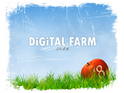 Digital Farm Wallpaper