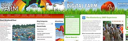 Digital Farm New Theme Design