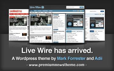 Live Wire - A Premium WordPress Theme