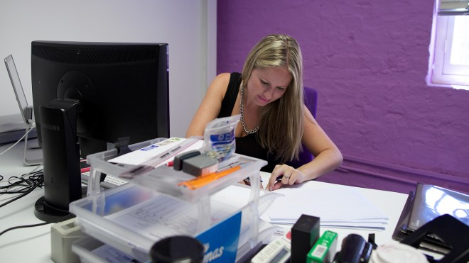 A 50+ person team creates a lot of paperwork - that Dom needs a home for.