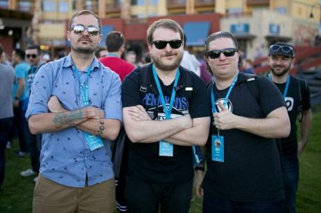 Tommy Shellberg, Gareth Allison & Matty Cohen