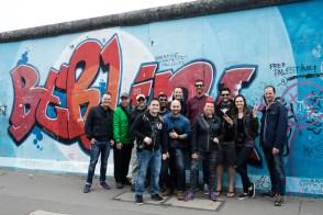 An art walk along the Berlin Wall