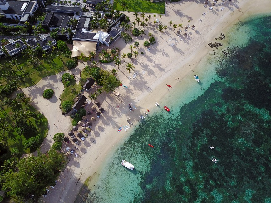 I went droning in Mauritius