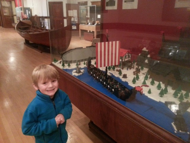 visiting the Lego exhibit at Nordic heritage museum