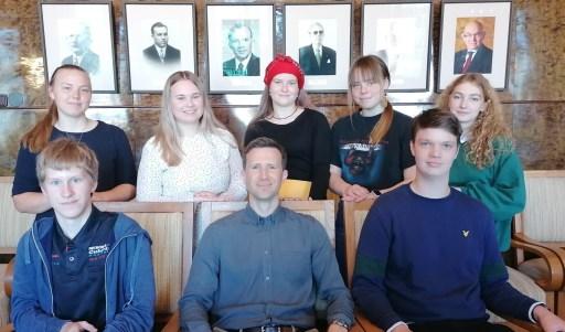Kohtumine Õiguskantsleri Kantselei laste ja noorte õiguste osakonna juhataja Andres Aruga