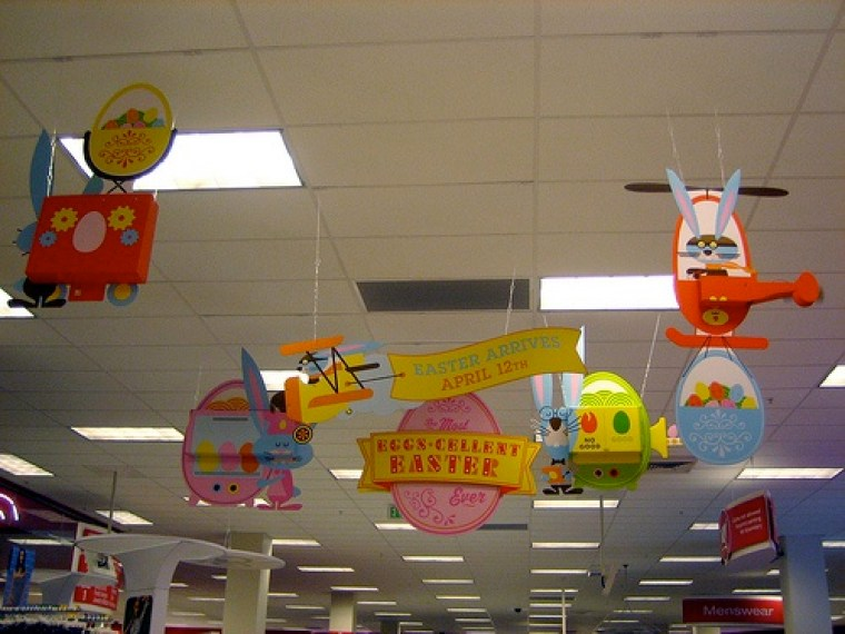 target in-store signage