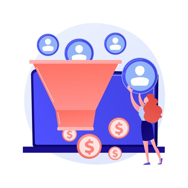 sales-funnel-lead-generation-customer-management-marketing-strategy-commerce-conversion-flat-design-element-selling-plan-clients-filter-concept-illustration_335657-2009
