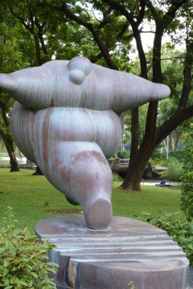 sculpture - Lumpini Park - Bangkok