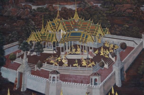 Royal Grand Palace - Bangkok - Thailand - murals